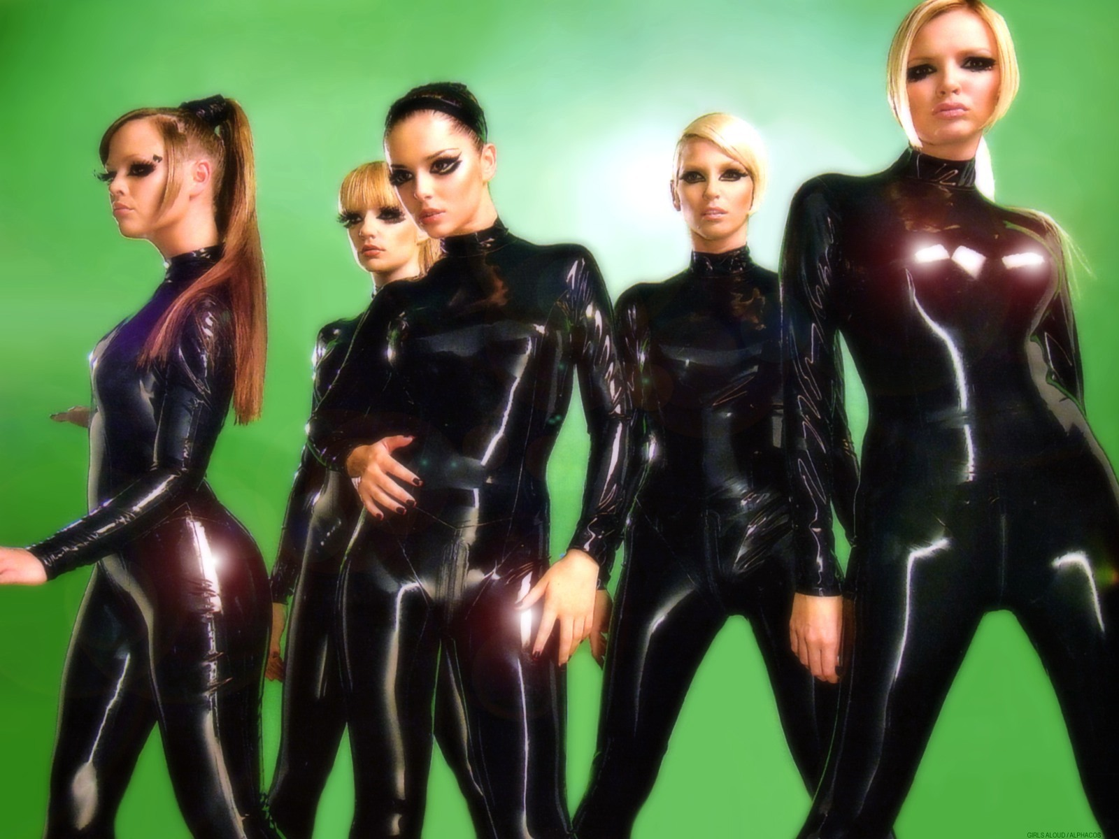 Girls Aloud in Libidex Catsuits