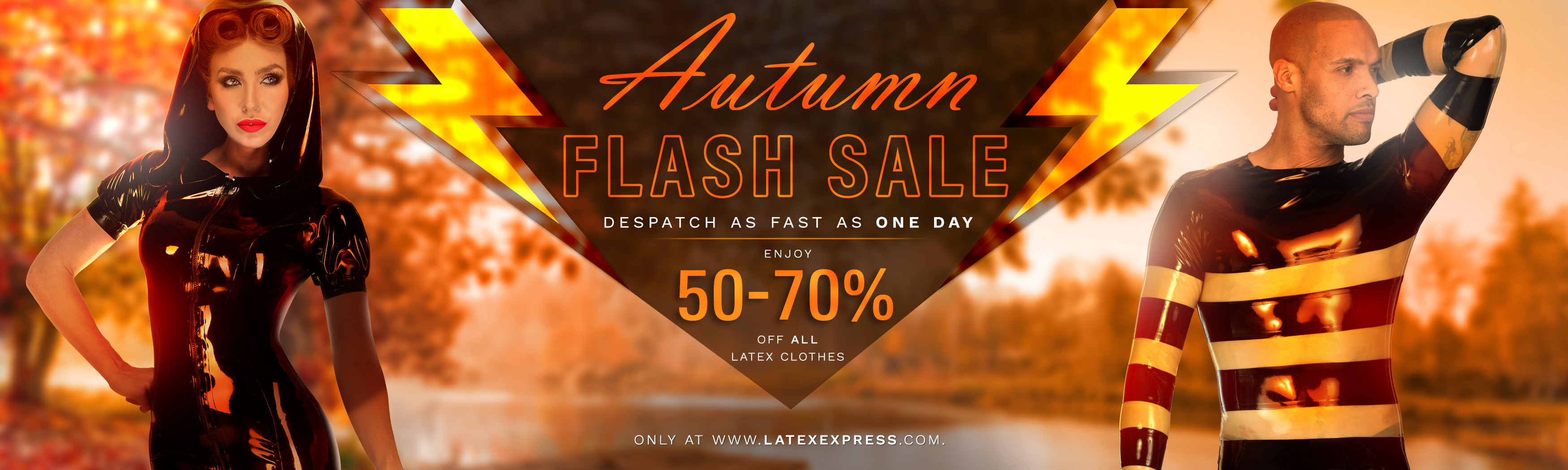 LatexEXPRESS Autumn Flash Sale 2019