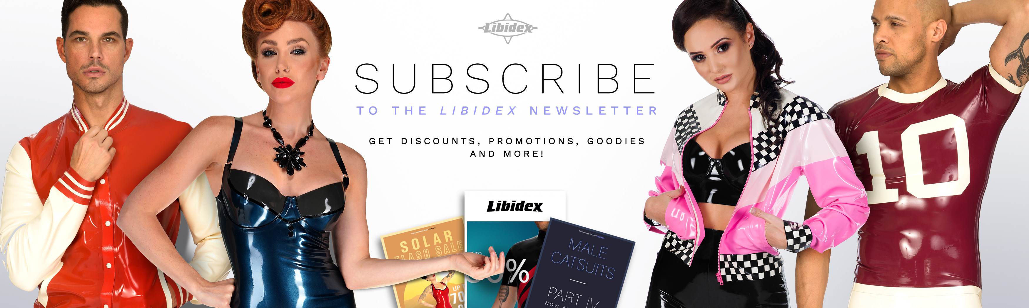Subscribe to the Libidex Newsletter
